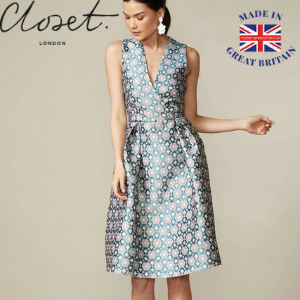 closet london pleated dress, best of british, made in great britain, made in britain, made in uk, british made products