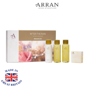 arran of scotland after the rain gift set made in britain