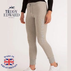 teddy edward women's jogger lounge pants made in great britain