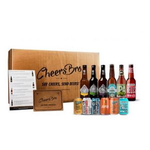 cheers bro beer subscription, send a friend some british beers
