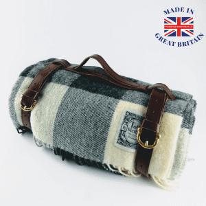 gordon bennett wool picnic blanket, best of british