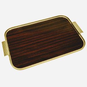 luxury faux mahogony lap tray