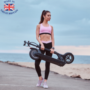 girl woman in pink athleisurewear active crop top and leggings made in great britai, british made athleisure and active gym wear