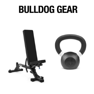 bulldog gear british built gym equipment weights bench and bell, made in uk, best of british