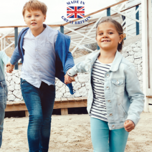 british made kidswear category, childrens clothes made in uk, british business directory