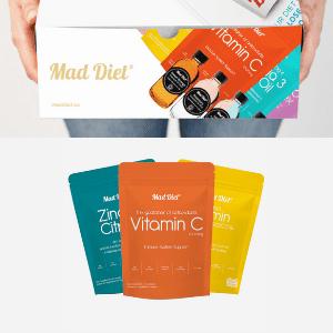 mad diet immune support vitamins made in scotland, british made vitamins and health supplements