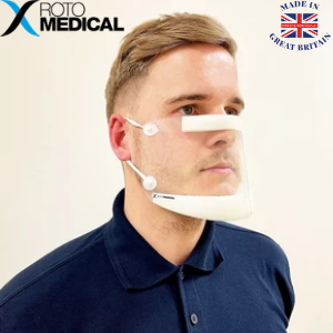 roto medical ppe equipment manufacturers of face shields and masks made in uk, made in great britain