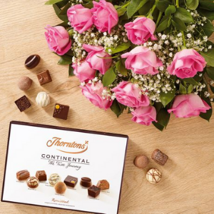thorntons valentines day chocolates made in great britain, valentines day gifts for her, valentines day gift ideas for women, made in great britain