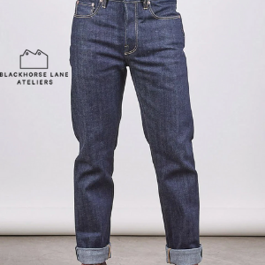 Blackhorse Lane Ateliers denim jeans made in great britain, selvedge denim made in london factory