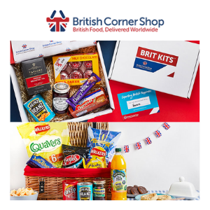 the british corner shop, british food brands and groceries delivered around the world to british expats