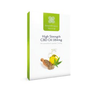 healthspan high strength cbd capsules, british cbd