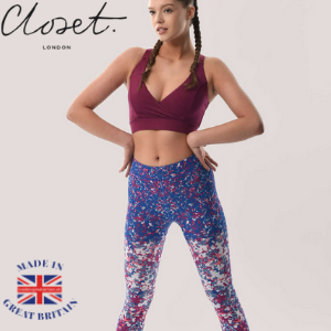 closet london, british athleisure wearm ,made in great britain