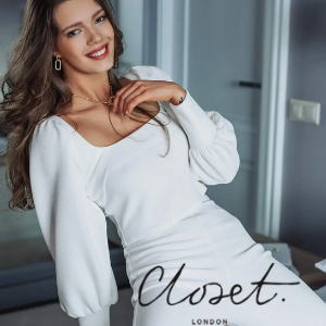 woman in white top and leggings made in uk by closet london