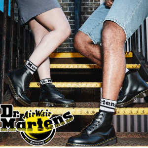 Dr Martens vintage ankle boots made in england collection