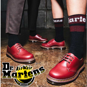 DR Martens 1460 vintage ox blood ankle boots made in england