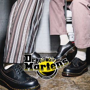 dr martens vinage 3989 brogues shoes made in england black