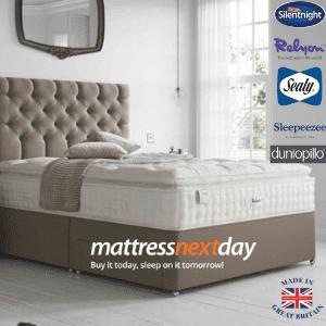 mattress next day, british made mattresses, sealy, silentnight mattress made in uk