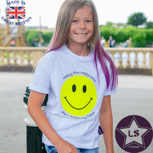 lola starr happy face happy place new collection childrens t shirt