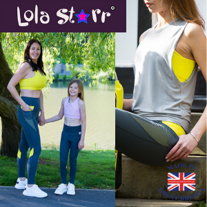 lola starr athleisure collection mini me kids and adults