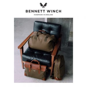 bennett and winch luxury luggae and bags made in england