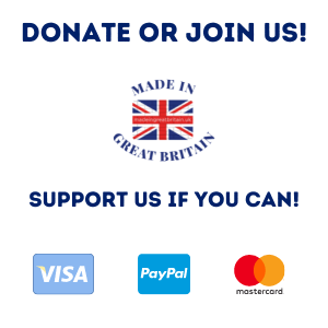 support made in great britain, join made in great britain, donate uk, paypal visa mastercard logos to donate to made in britain website