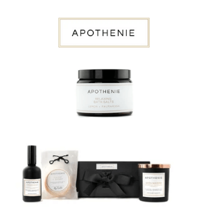 apothenie hand poured candles and melts gift set luxury made in UK
