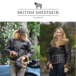 world war 2 British sheekskin flying jackets for men and women made in england