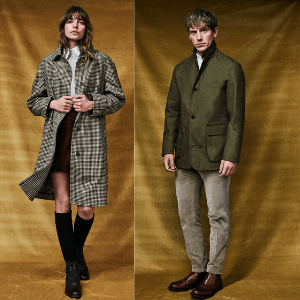 chrysalis luxury made in england coats for men and women