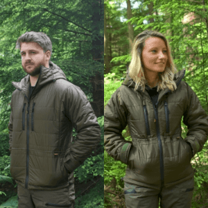 fortis outdoor jackets for men and women made in devon