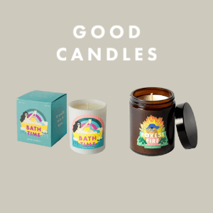 good candles forest fire and bath time