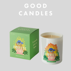 good candles soy forest fire scented candle made in uk