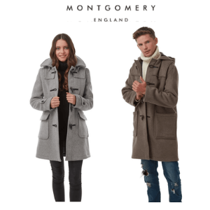 montgomery duffle coats made in england