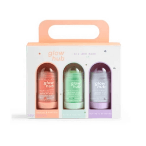 mix and mask it glowhub skincare gift set made in britain