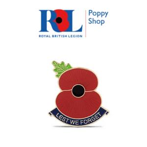 royal british legion poppyshop poppy 2021 remembrance day sunday poppy jewellery made in great britain