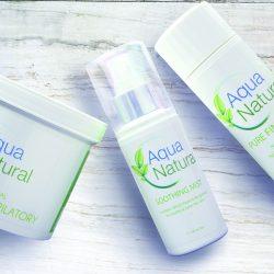 Aqua Natural, Top UK Beauty Brands, British Blog, Made in Great Britain