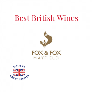 Best British Wines, fox and fox mayfield, made in great britain