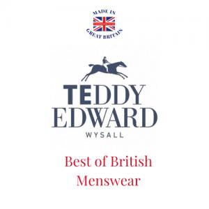 Teddy Edward, British Luxury Menswear Brand, Best of British Menswear, Mens designer clothing brands