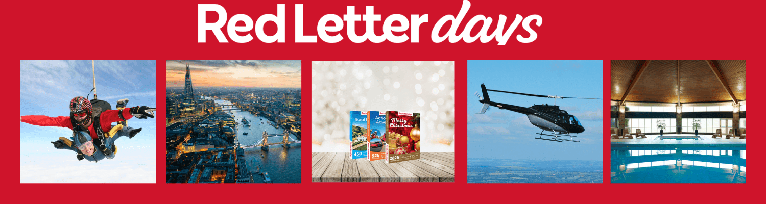 red letter days experience days activity days and adventure days tours and attractions in London and the UK