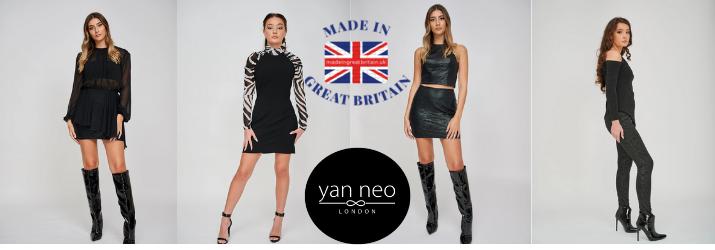 yan neo made in uk womenswear brand, british womenswear brand