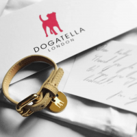 dogatella, luxury british made dog collare, british made pet accessories
