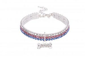 iwoof, bling dog collar, made in great britain