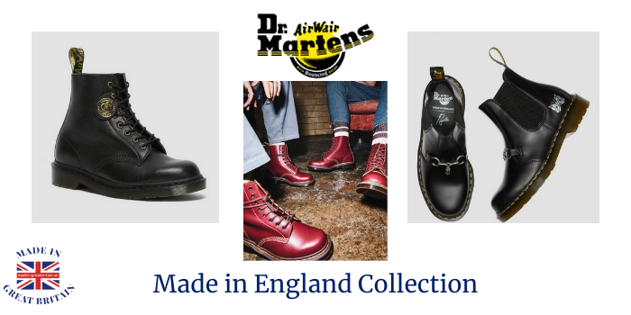 dr martens made in england collection, dr martens boots made in england, dm's, dr martens