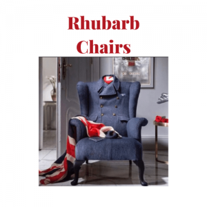 rhubarb chairs, made in britain