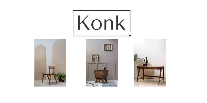 Konk, bespoke chair, handmade table, british made furniture