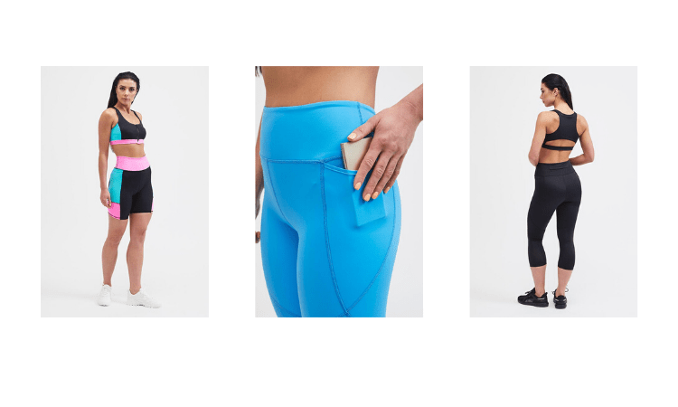 British Activewear Brands, belles of london, gym wear
