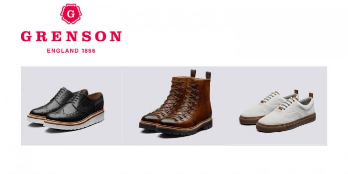 Grenson Shoes, British men's shoe brands