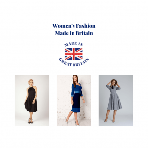 women's fashion, made in Britain