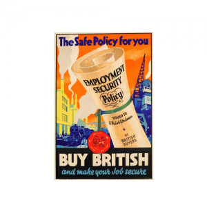 Buy British Campaign poster, advertisement