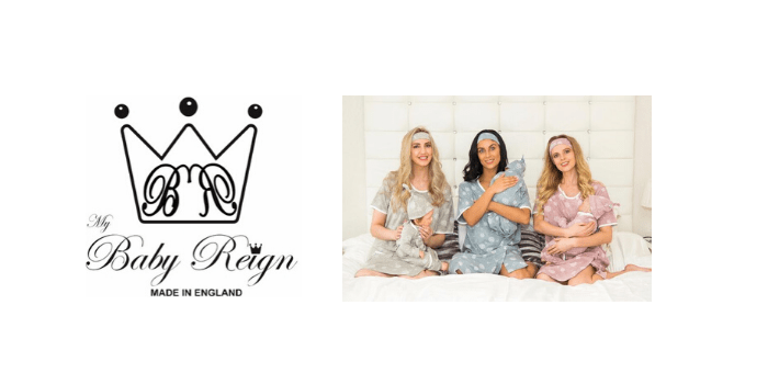 my baby reign, mother and baby brand, mummy and baby clothing, made in england