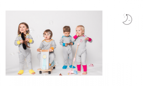 sleep thief baby clothes brand, made in britain